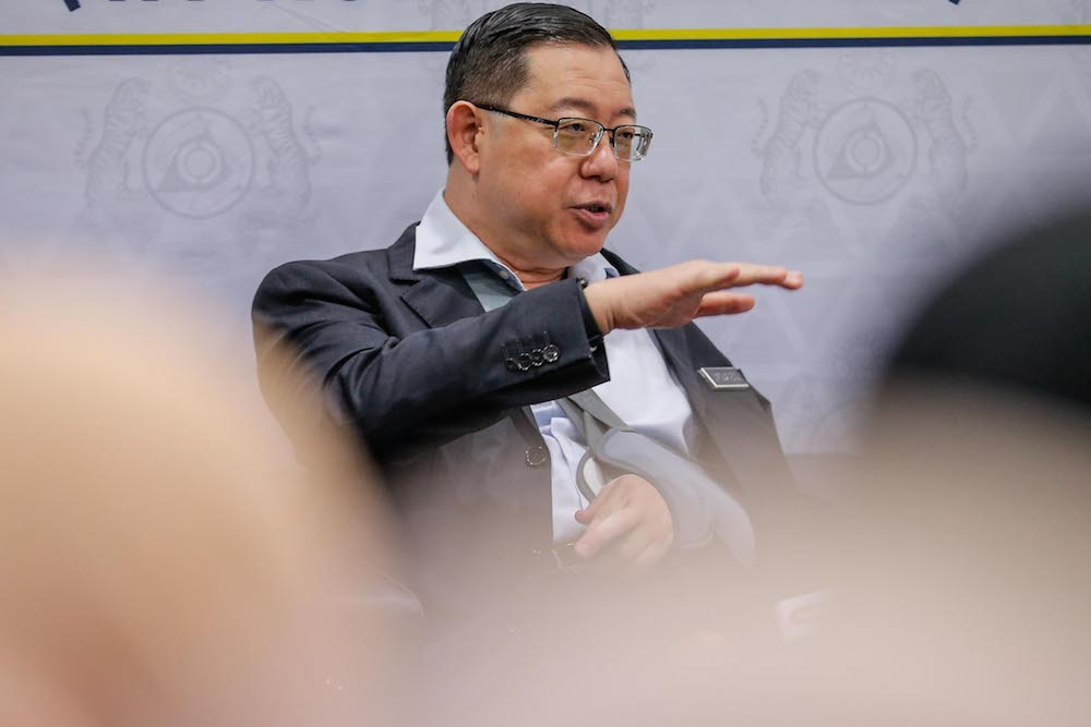 Lim urged the public to wait for an official announcement from the government and not to take any speculation in the market as the final say. — Picture by Hari Anggara