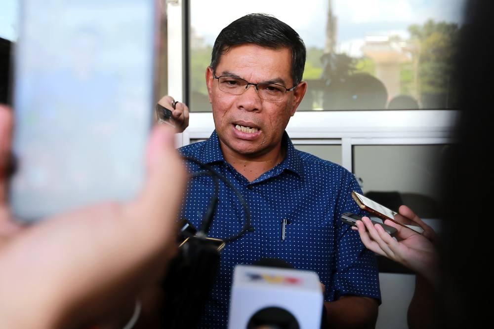 PKR secretary-general Datuk Seri Saifuddin Nasution said Pakatan Harapan's (PH) discussion on its prime minister candidate is still ongoing. ― Picture by Ahmad Zamzahuri