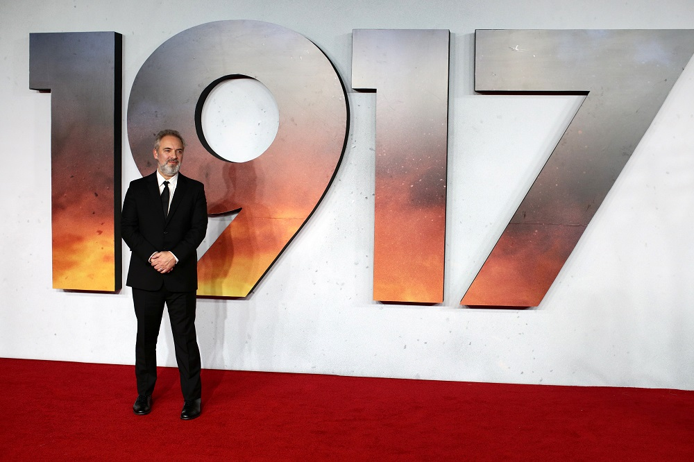 Director Sam Mendes poses at the world premiere of the film '1917' in London December 4, 2019. — Reuters pic