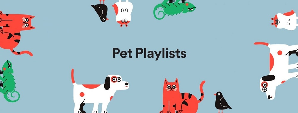 Spotify can create the pawfect playlist for your furry companions. — Picture courtesy of Spotify
