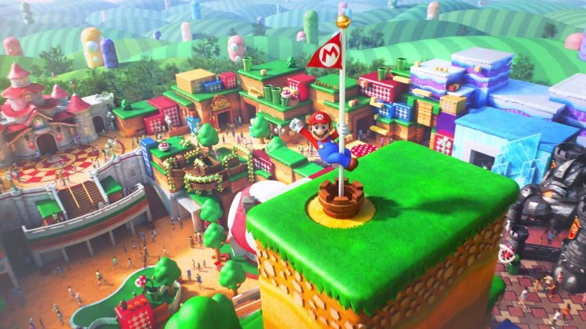 'Super Nintendo World' is a first named attraction for Universal's Epic Universe. — Picture courtesy of Universal Studios Japan via AFP