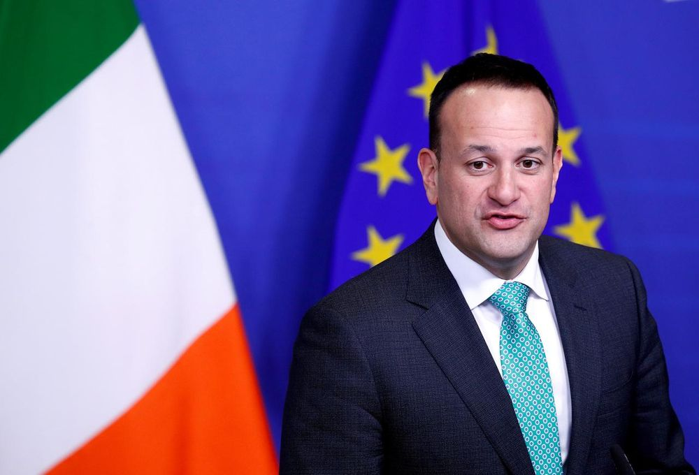 Irish Prime Minister Leo Varadkar said he was 'optimistic' that a vaccine would be approved soon. — Reuters pic