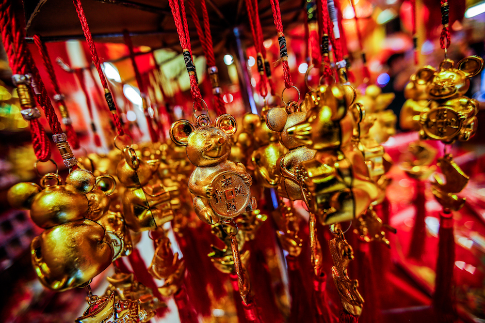 The Chinese New Year celebration in Sarawak is only allowed on the first day with an attendance of 20 people at a time and are limited to immediate family members. — Picture by Hari Anggara