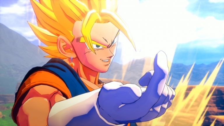 'Dragon Ball Z: Kakarot' contains 7 playable characters (pictured: Vegito) and over 60 more from the animé series.— Picture courtesy of CyberConnect2 / Bandai Namco Entertainment