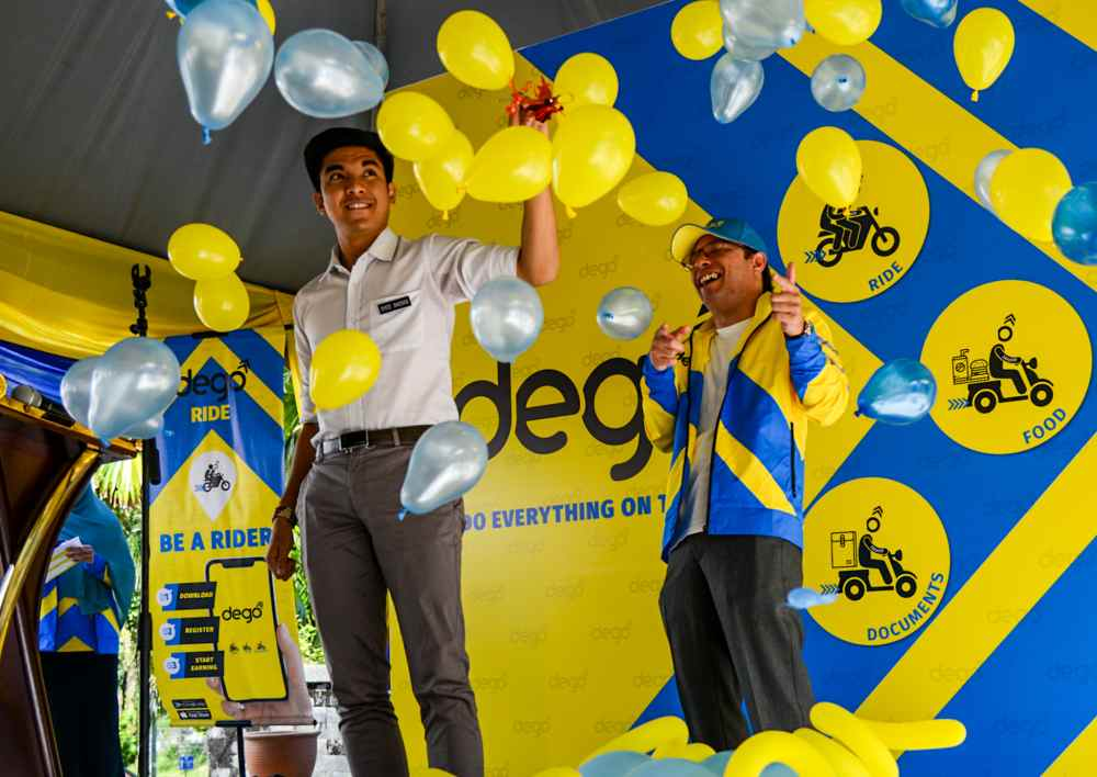 Youth and Sports Minister Syed Saddiq Syed Abdul Rahman attends the opening of Dego Ride's operation office in Kuala Lumpur January 1, 2020. ― Picture by Firdaus Latif