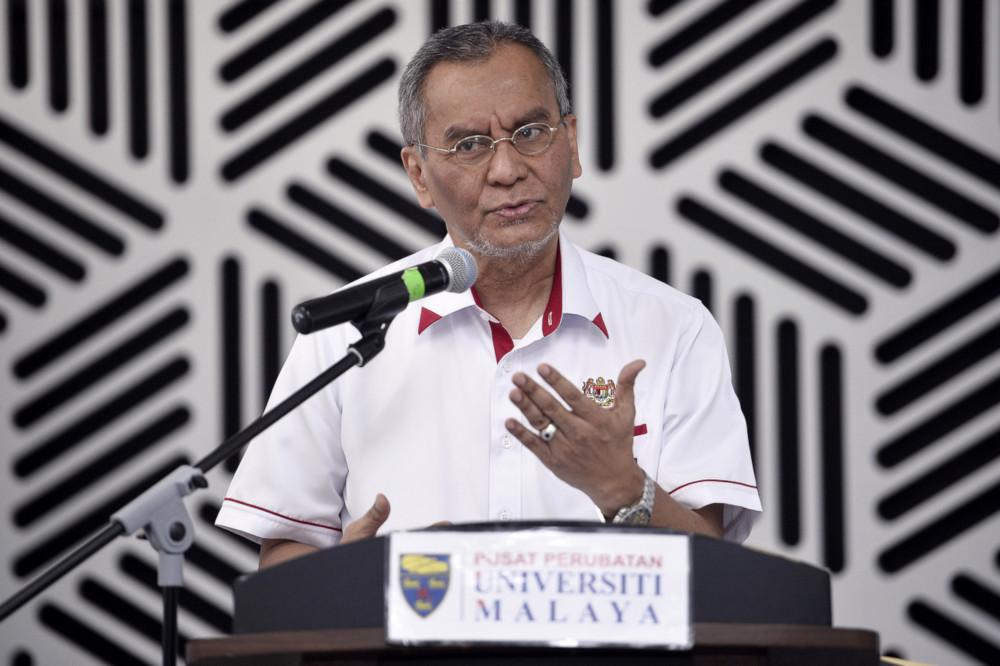 Health Minister Datuk Seri Dzulkefly Ahmad speaks at the launch MyStarfish, a charity programme under the Paediatric Palliative Care Centre, Universiti Malaya Medical Centre in Kuala Lumpur January 11, 2020. — Bernama pic