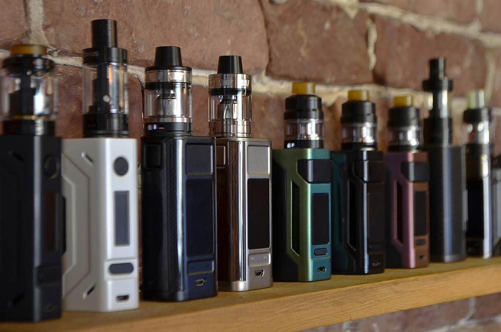 File picture of vaping devices. — Nijat Nasibli/IStock.com pic via AFP