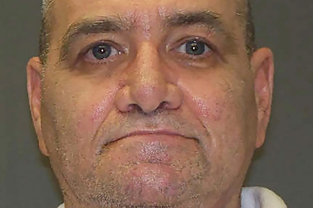 Undated photo of John Gardner, a prisoner on death row in Texas. — Texas Department of Criminal Justice handout via  Reuters