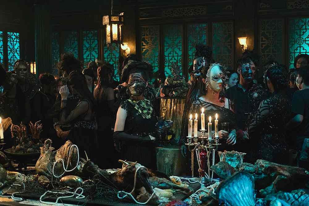 A scene in the Courts of Hell from the upcoming Netflix original series 'The Ghost Bride.' — Picture courtesy of Netflix