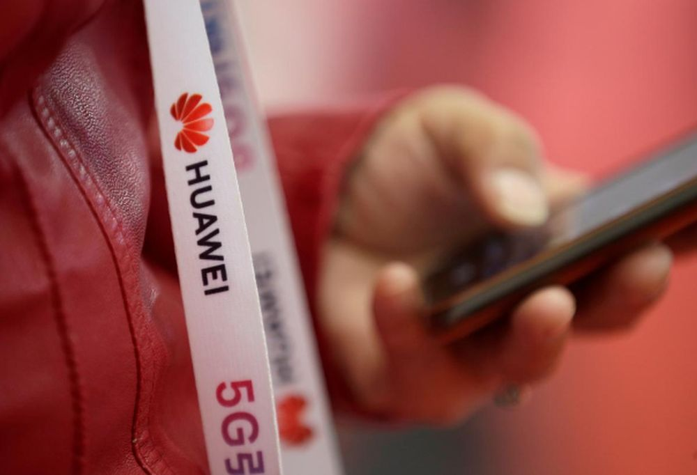 The development would be a change of direction for Britain, which in late April confirmed it would allow Huawei to have a role in building the country's 5G phone network. — Reuters file pic