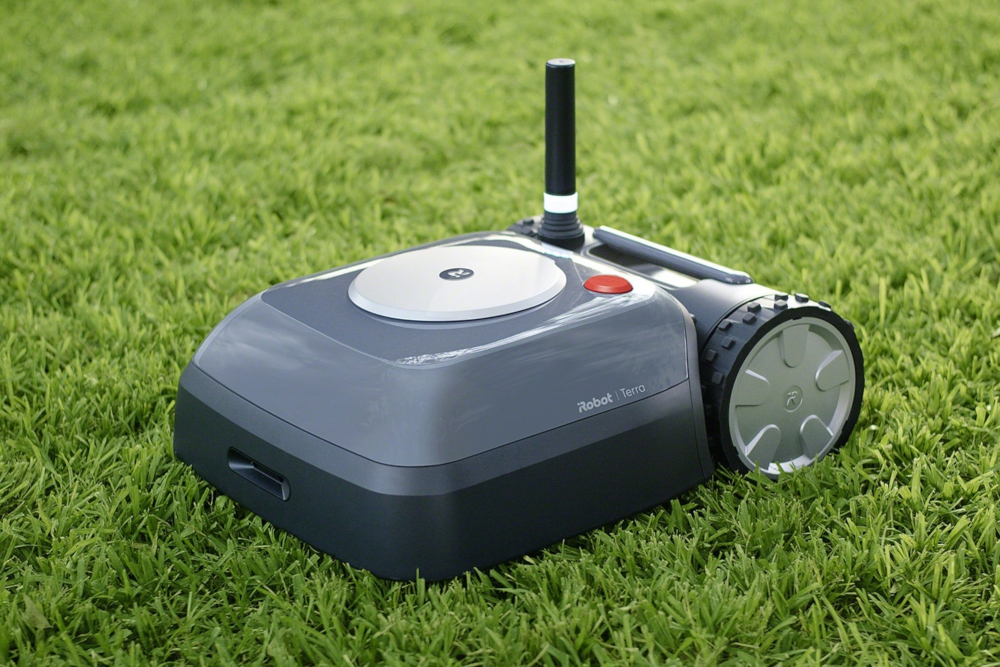 iRobot's next major hardware launch will be the Terra lawnmower this year. — Picture from iRobot via AFP-Relaxnews