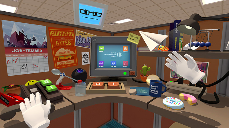 'Job Simulator' is built on the comedic potential of VR control schemes. — Picture from Owlchemy Labs via AFP-Relaxnews