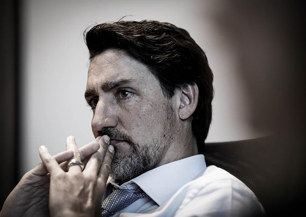 Canada Prime Minister Justin Trudeauin Ottawa, Ontario January 6, 2020. — Adam Scotti/Prime Minister's Office handout via Reuters
