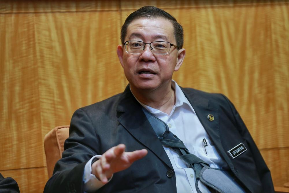 Finance Minister Lim Guan Eng said the digital economy could also attract investors and encourage human capital development as well as research. ― Picture by Ahmad Zamzahuri