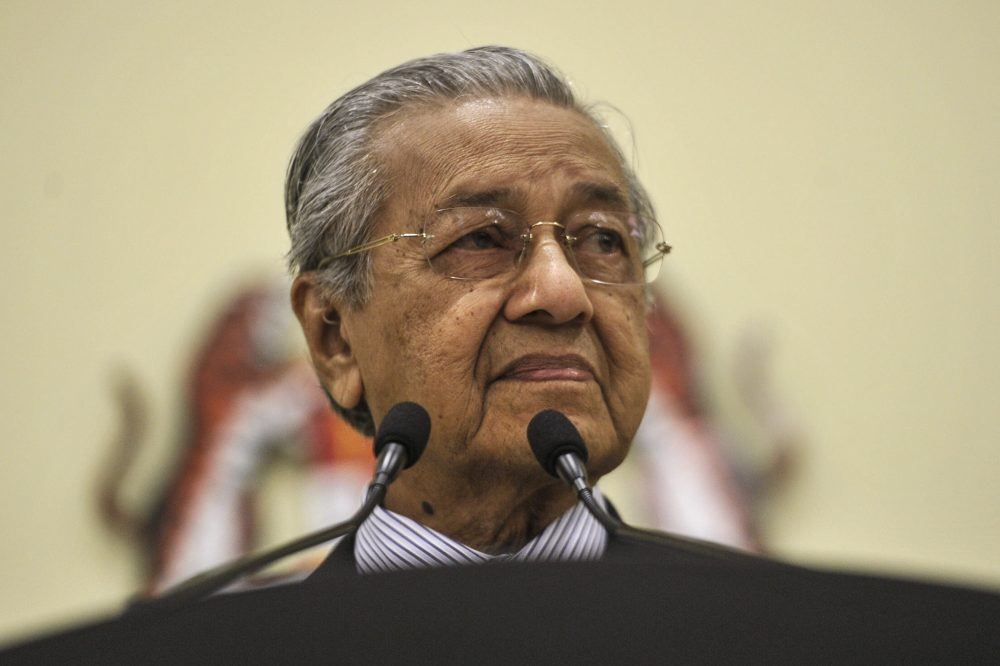 As many as 138 out of 222 MPs are alleged to have signed statutory declarations (SDs) in support of sitting Prime Minister Tun Dr Mahathir Mohamad staying the full term. ― Picture by Shafwan Zaidon