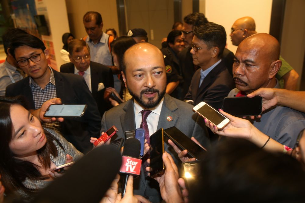 Kedah Mentri Besar Datuk Seri Mukhriz Mahathir said initial works on the land to build the KXP had not started as currently, the state government was still at the land acquisition stage. — Picture by Choo Choy May