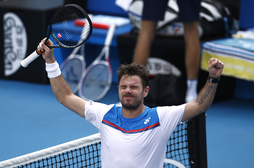Stan Wawrinka says he will not be playing in the US Open due to the 'health situation in New York'. — Reuters pic
