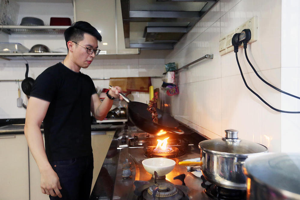 Yeo Kai Siang is a part-time private home chef who serves Neo-French cuisine. He started his establishment, Chez Kai, in February last year. — TODAY pic