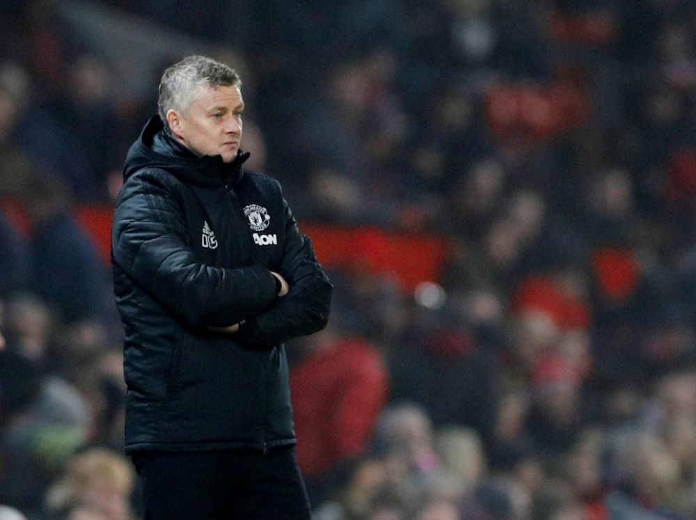 Solskjaer says Manchester United's transfer window has not gone according to plan, but the Premier League club is working hard to bring in new players. — Reuters pic