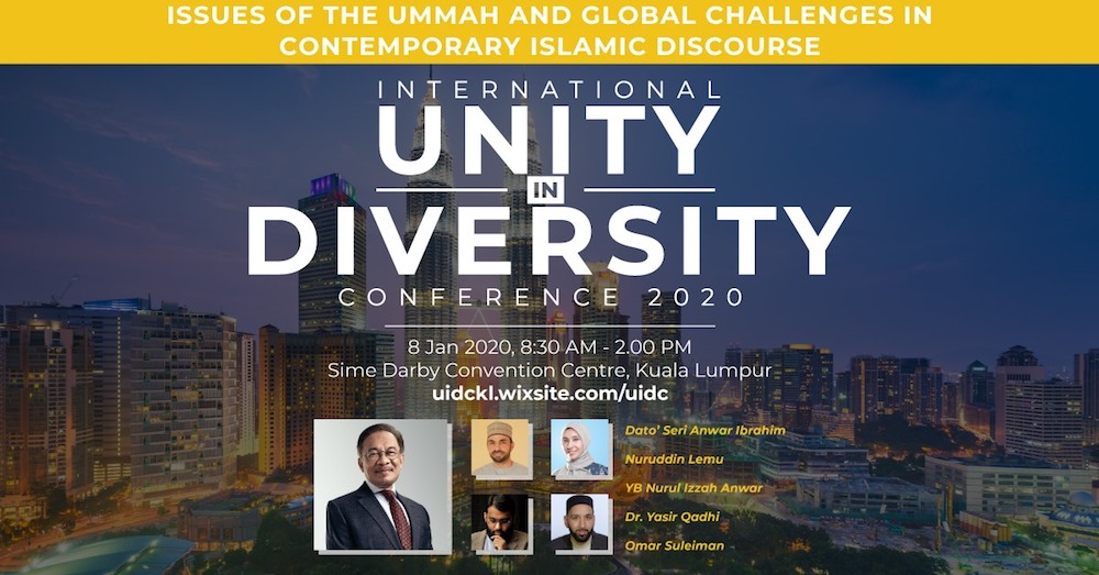 Anwar is listed as the keynote speaker in the upcoming conference. — Picture via Facebook