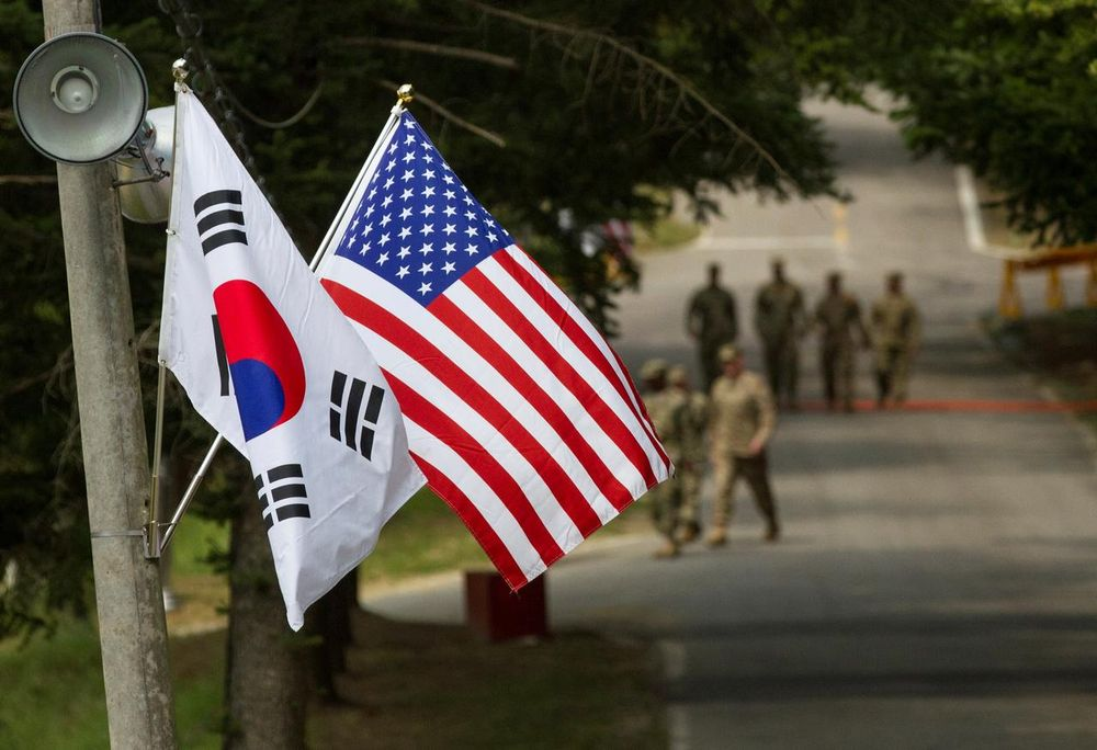 South Korea and the United States regularly stage military exercises, mainly in the spring and summer, but North Korea has long responded with scathing criticism, calling them a rehearsal for war. — US Army/Handout pic via Reuters