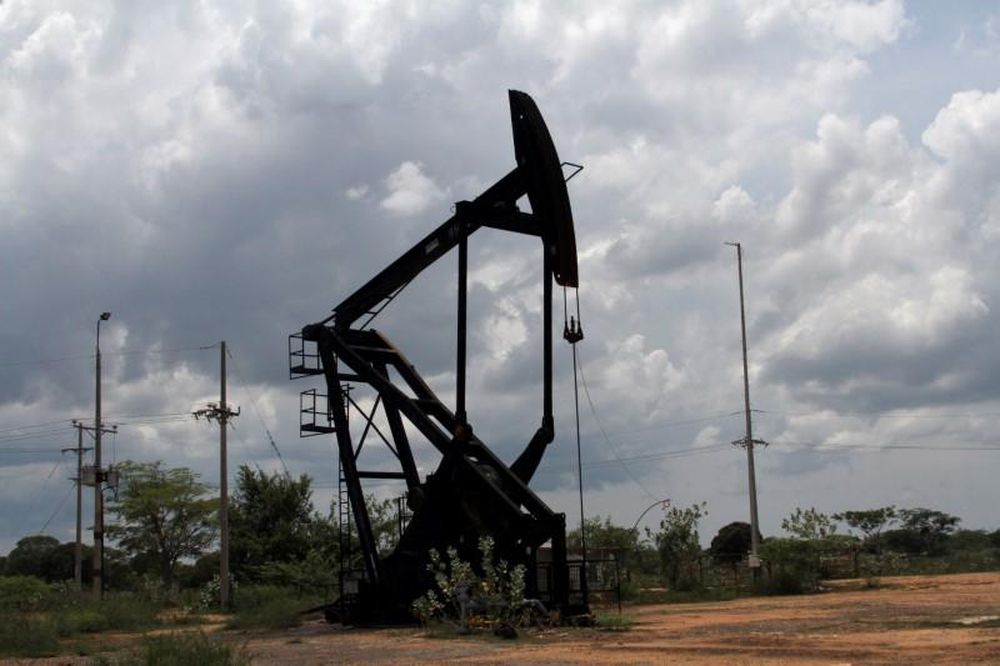 An oil pumpjack is seen in La Canada de Urdaneta, Venezuela October 1, 2019. — Reuters pic
