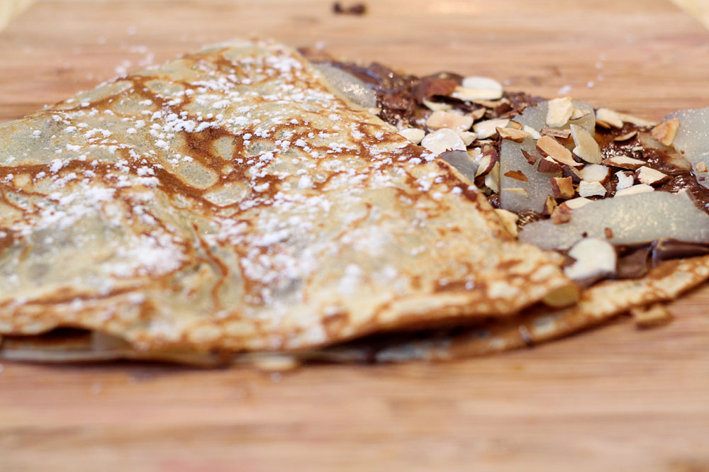 A crêpe party can be a solution to social media isolation. — Pictures by CK Lim