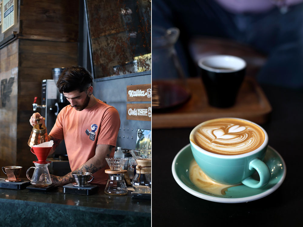 The friendly baristas at All Saints make some of the best coffee in town.