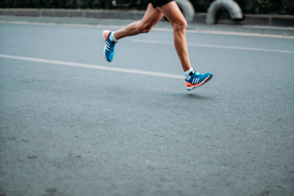 Chinese runners have been forced to train indoors due to the virus. — Picture from Unsplash