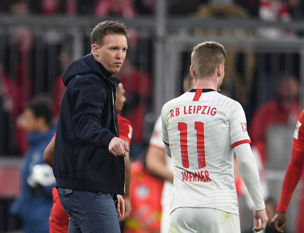 RB Leipzig suffered a blow to their title hopes with a shock 3-2 defeat away to crisis club Mainz. — Reuters pic