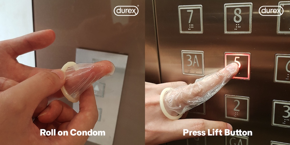 Condoms are reportedly the new star product when it comes to fending off Covid-19. — Pictures from Facebook/durexsingapore