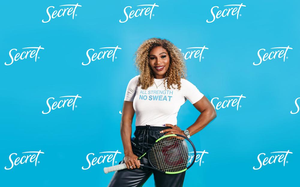 File photo of Serena Williams. — Picture courtesy of Secret Deodorant