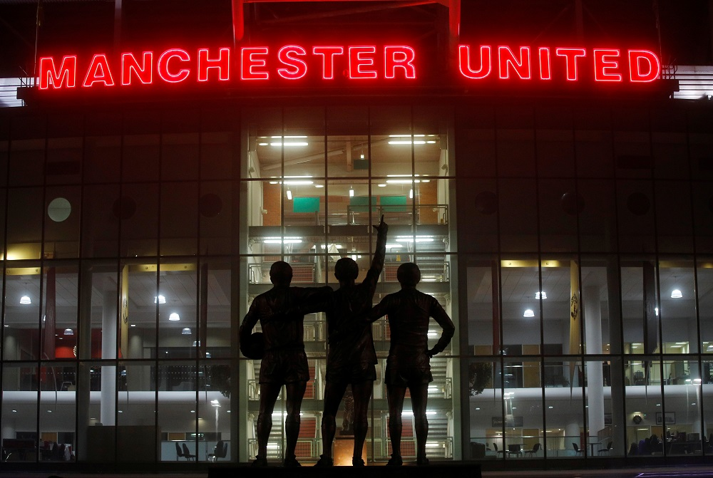 Spectators have been barred from games since the league resumed in June after a three-month hiatus due to the pandemic, with fans last present at Old Trafford during United's 2-0 derby victory over Manchester City in March. — Reuters pic