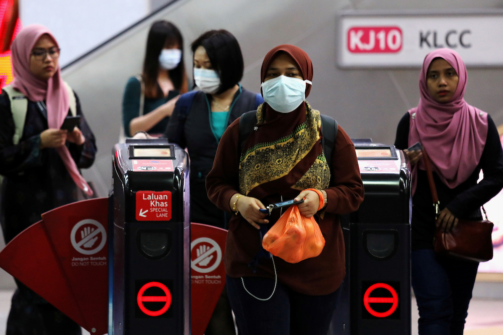PH also advised the public to maintain good hygiene habits, to take care of their health, and always ensure they share and take on board only verified information from the Health Ministry or its related agencies.  — Reuters pic