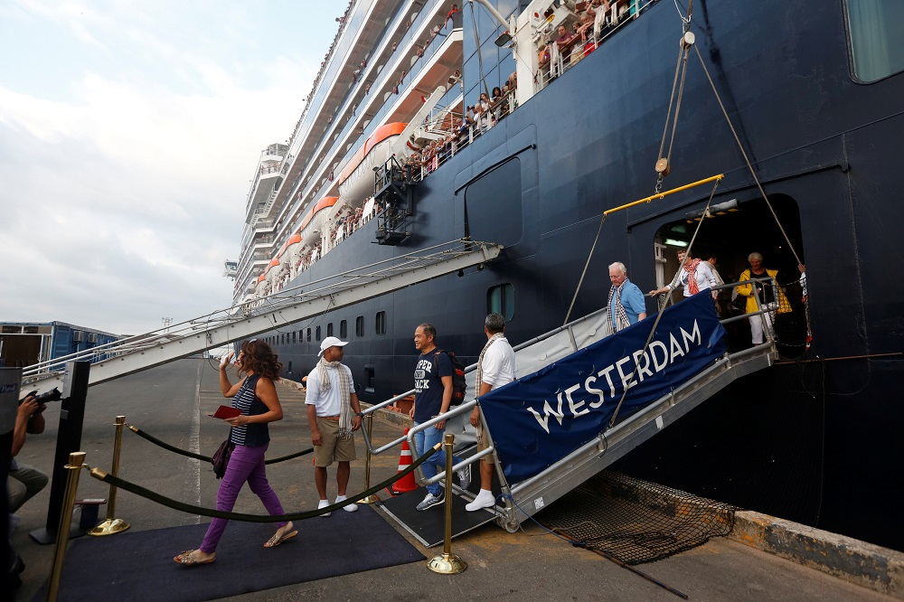 All cruise ships have been indefinitely barred from docking at Malaysian ports. — Reuters pic