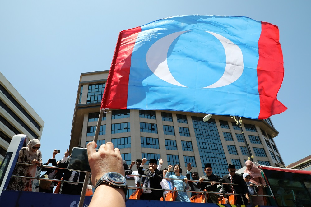 Catherine said the current PKR leadership no longer upholds justice and equality for all. — Reuters pic