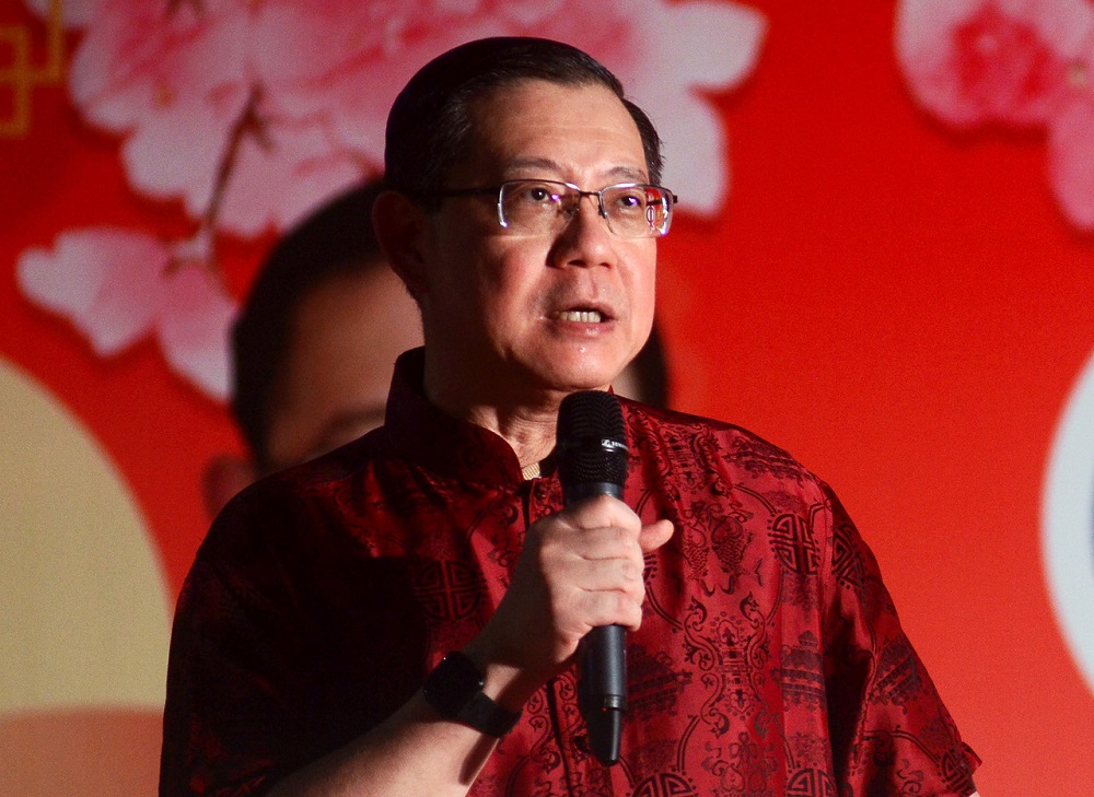 In a brief Facebook post tonight, Lim Guan Eng, who is also Bagan MP, also urged Malaysians to be united in the fight against Covid-19— Bernama pic