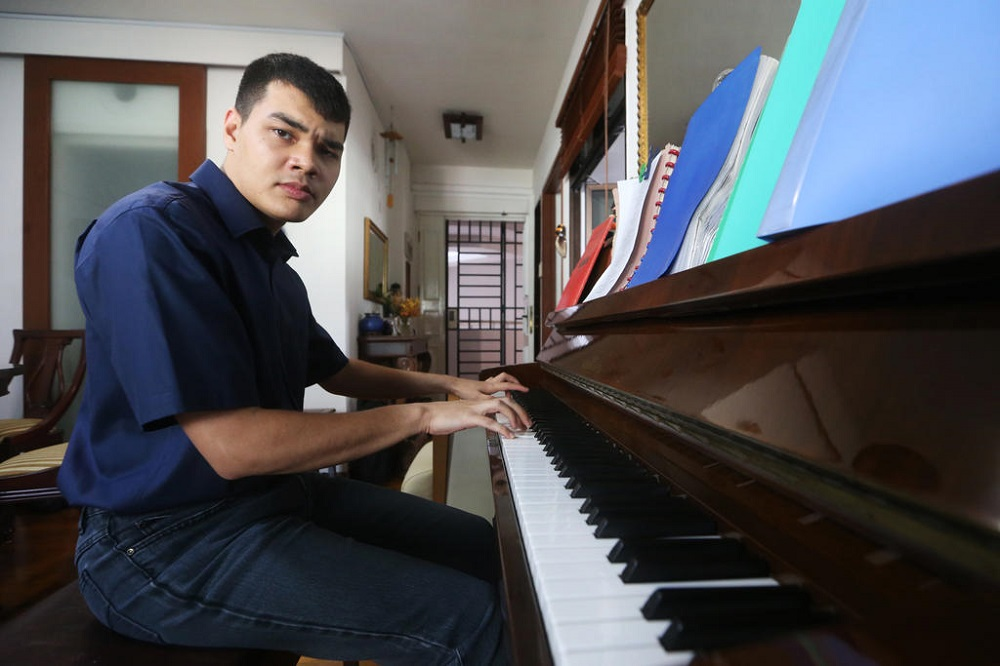 The moment he hears a song he enjoys on YouTube or television, Joshua German is at the piano, replicating it perfectly from memory. — TODAY pic