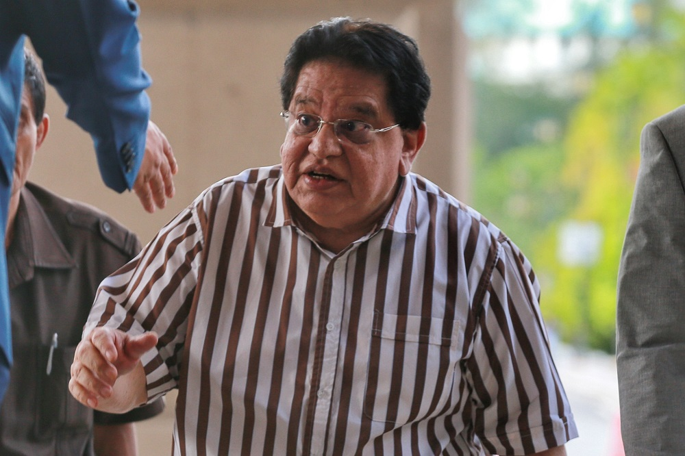 Tengku Adnan Tengku Mansor is pictured at the Kuala Lumpur High Court February 18, 2020. — Picture by Ahmad Zamzahuri