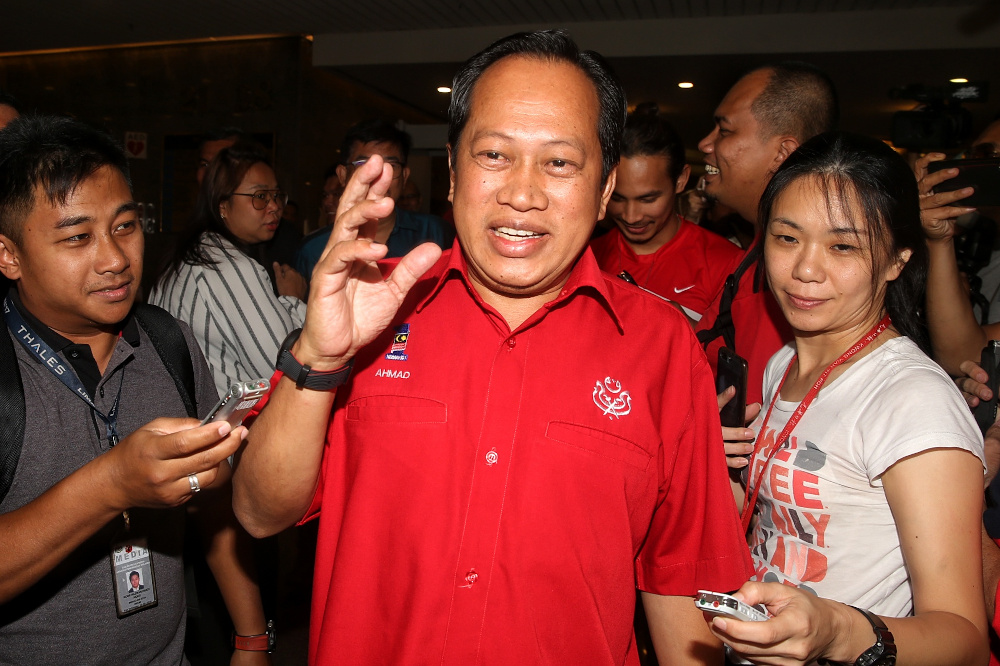 Datuk Seri Ahmad Maslan said the matter of seat allocations needs to be resolved very soon to enable their election machinery to get cracking. — Picture by Choo Choy May