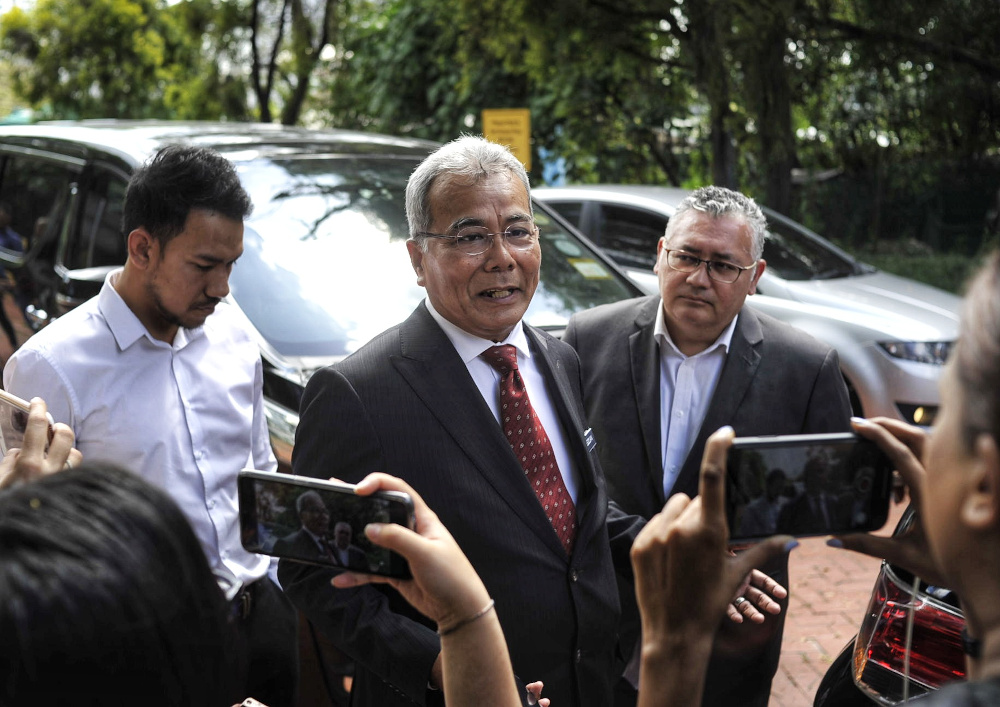 Datuk Seri Mohd Redzuan Md Yusof said the travel ban applied to all foreigners including those who were in Denmark recently. — Picture by Shafwan Zaidon