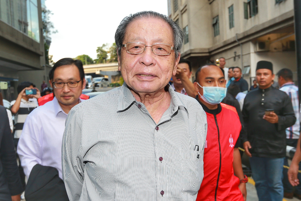 Lim Kit Siang has questioned if Parti Pribumi Bersatu Malaysia (Bersatu) is now headed in the direction of Islamist party PAS. — Picture by Ahmad Zamzahuri