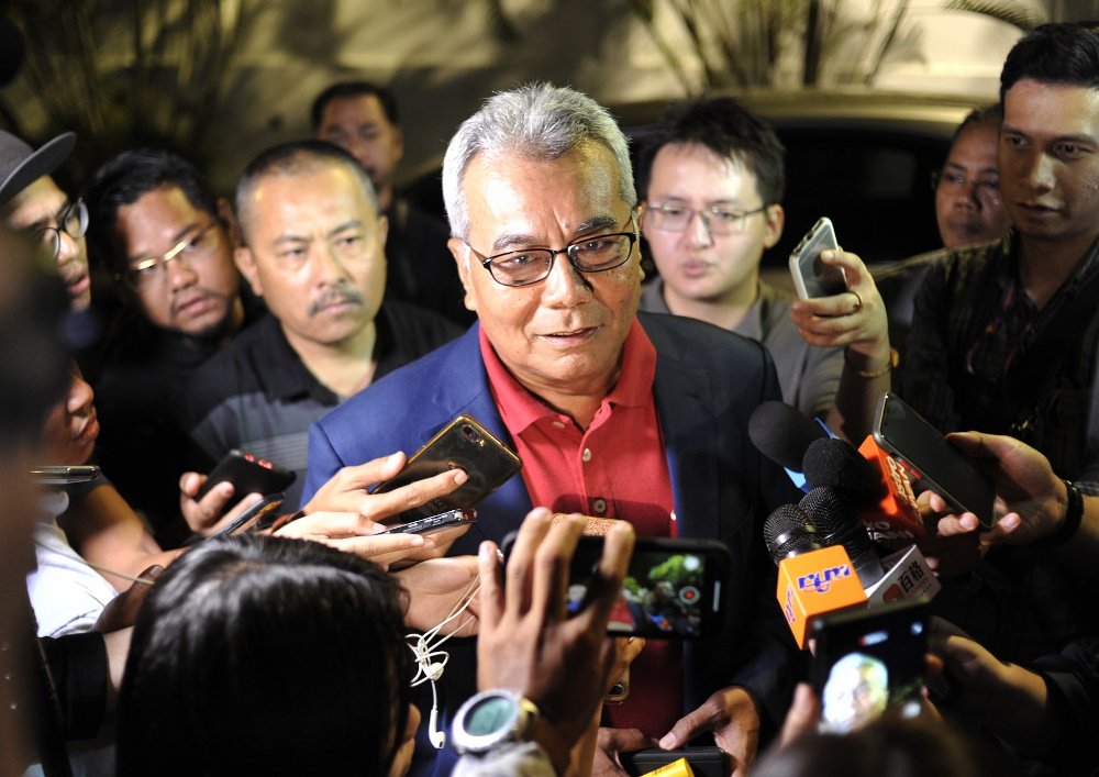 Minister in the Prime Minister's Department (Special Functions) Datuk Seri Mohd Redzuan Yusof says the government is finding ways to bring home all the students in stages. — Picture by Shafwan Zaidon