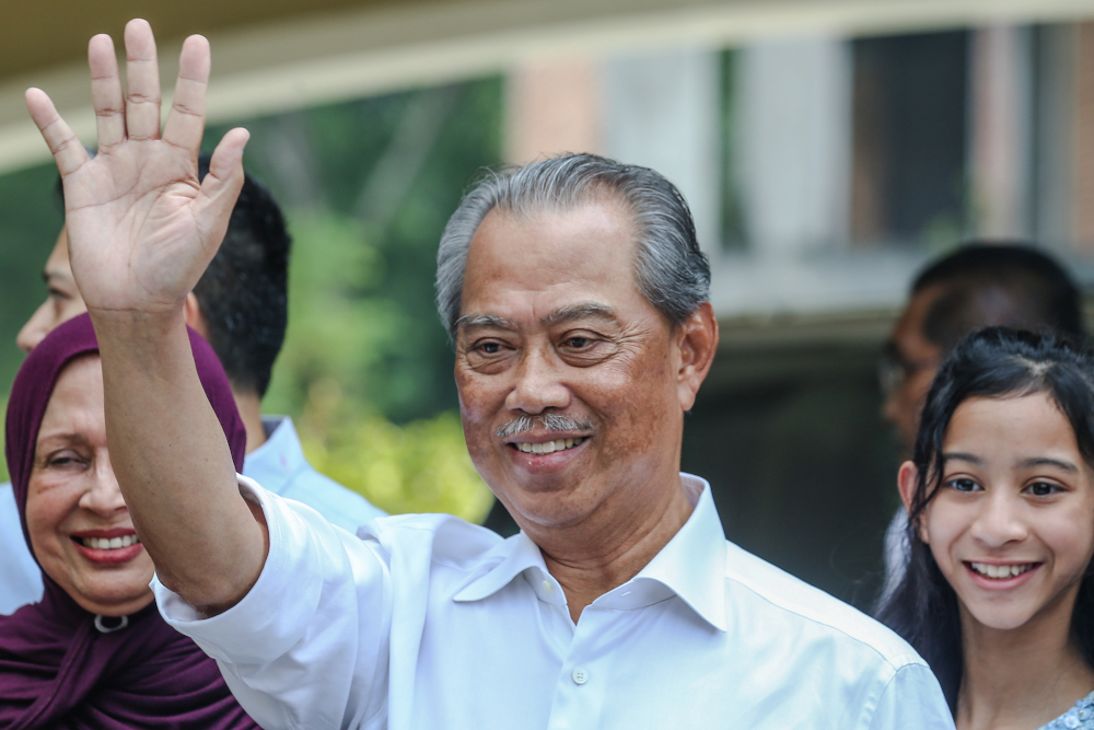 Muafakat Nasional proposed Tan Sri Muhyiddin Yassin as prime minister candidate in GE15 as he was seen as being good for the country, said PAS deputy president Datuk Tuan Ibrahim Tuan Man. — Picture by Firdaus Latif