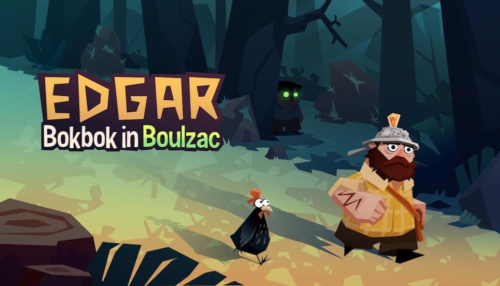 'Edgar: Bokbok in Boulzac' is an intrepid quest to save a lonely squash farmer's pumpkin patch. — Picture courtesy of La Poule Noire