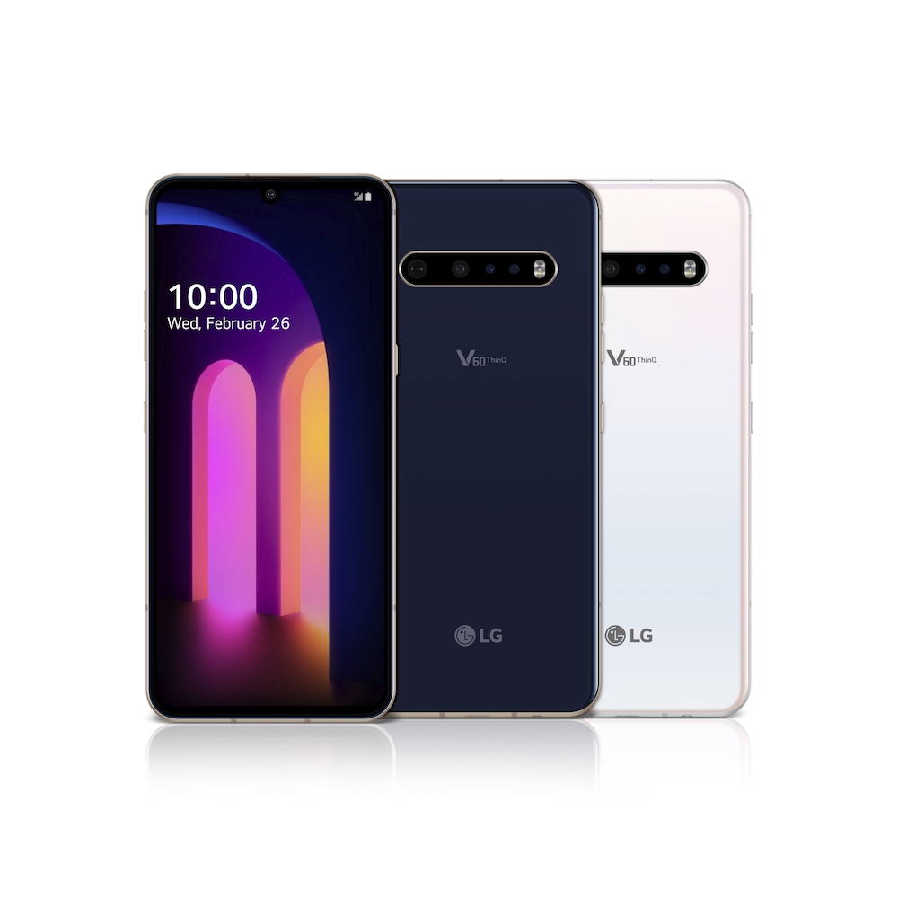 LG announces the newest model in the V series lineup, the V60 ThinQ 5G. — Picture courtesy of LG