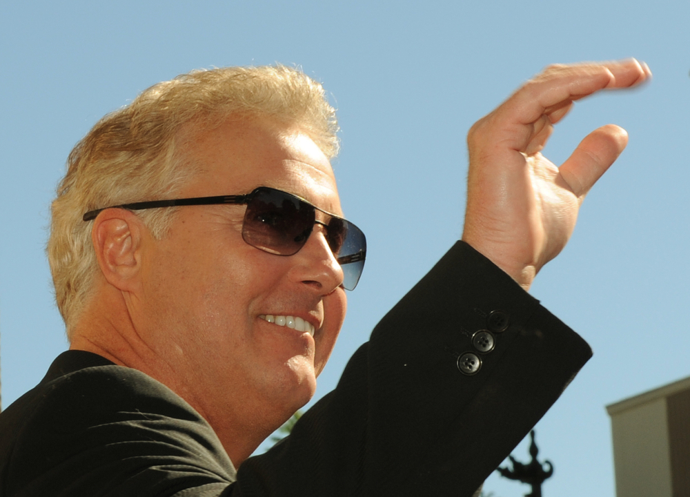 William Petersen played Gil Grissom in the series 'CSI: Crime Scene Investigation'. — AFP pic