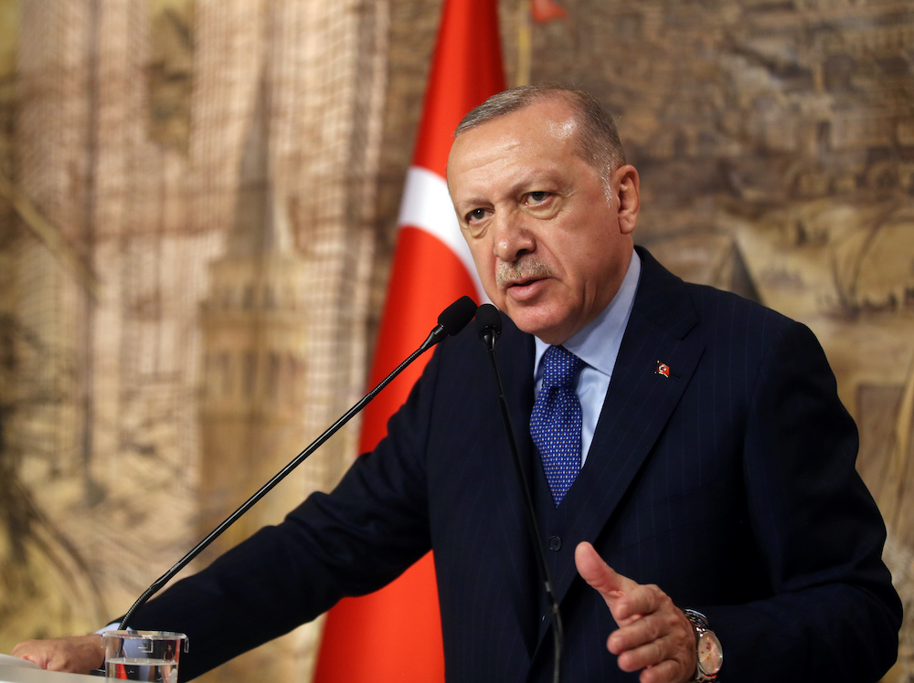 Turkish President Tayyip Erdogan will discuss further action on migrant issues. — Reuters pic