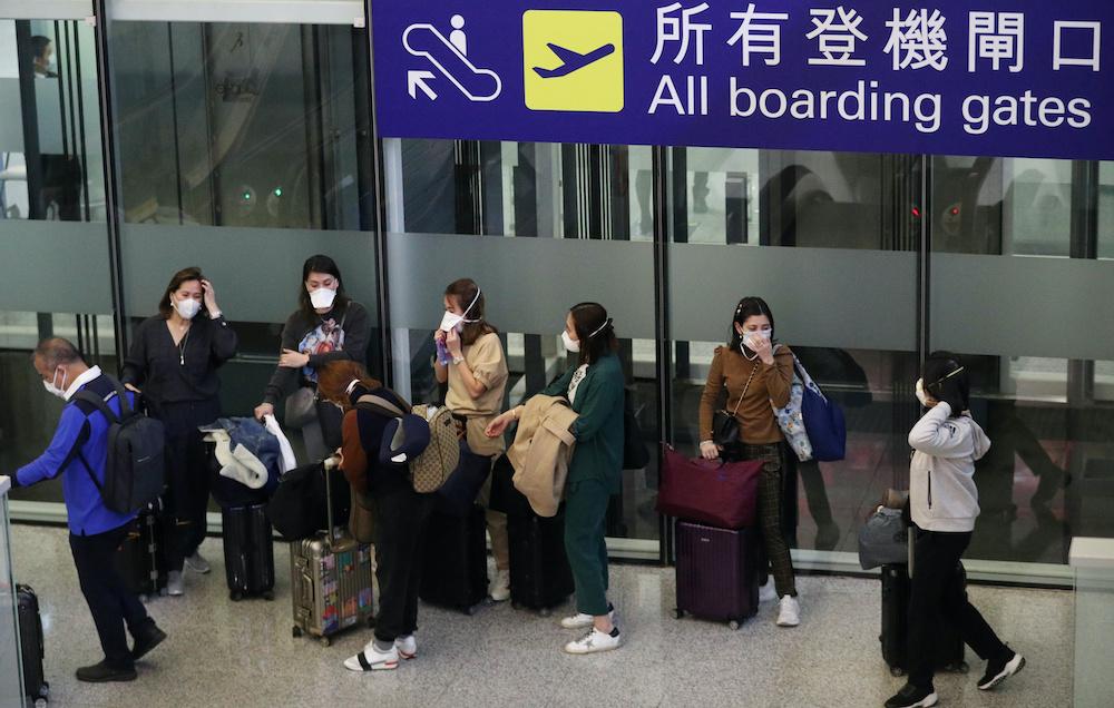 The legislation sailed through a legislature now devoid of opposition as Beijing seeks to quash dissent. — Reuters pic