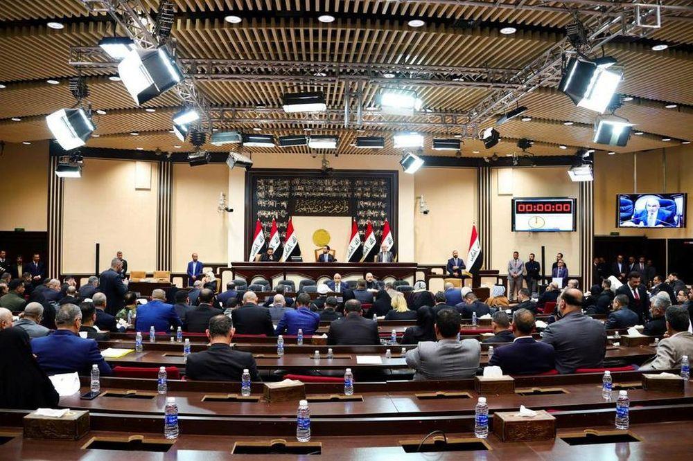 File picture shows Iraqi Prime Minister Adel Abdul Mahdi attending an Iraqi parliament session in Baghdad, Iraq January 5, 2020. — Iraqi PM Media Office/Handout picture via Reuters